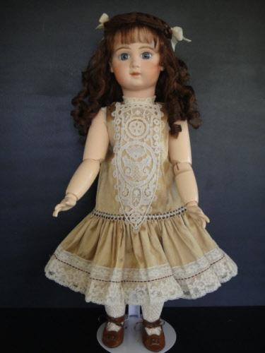 """Corps 21 cm  de poupée ancienne en bois reproduction d/'ancien  /""""Bleuette/"""""""